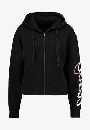 ROXANA - Zip-up hoodie - jet black