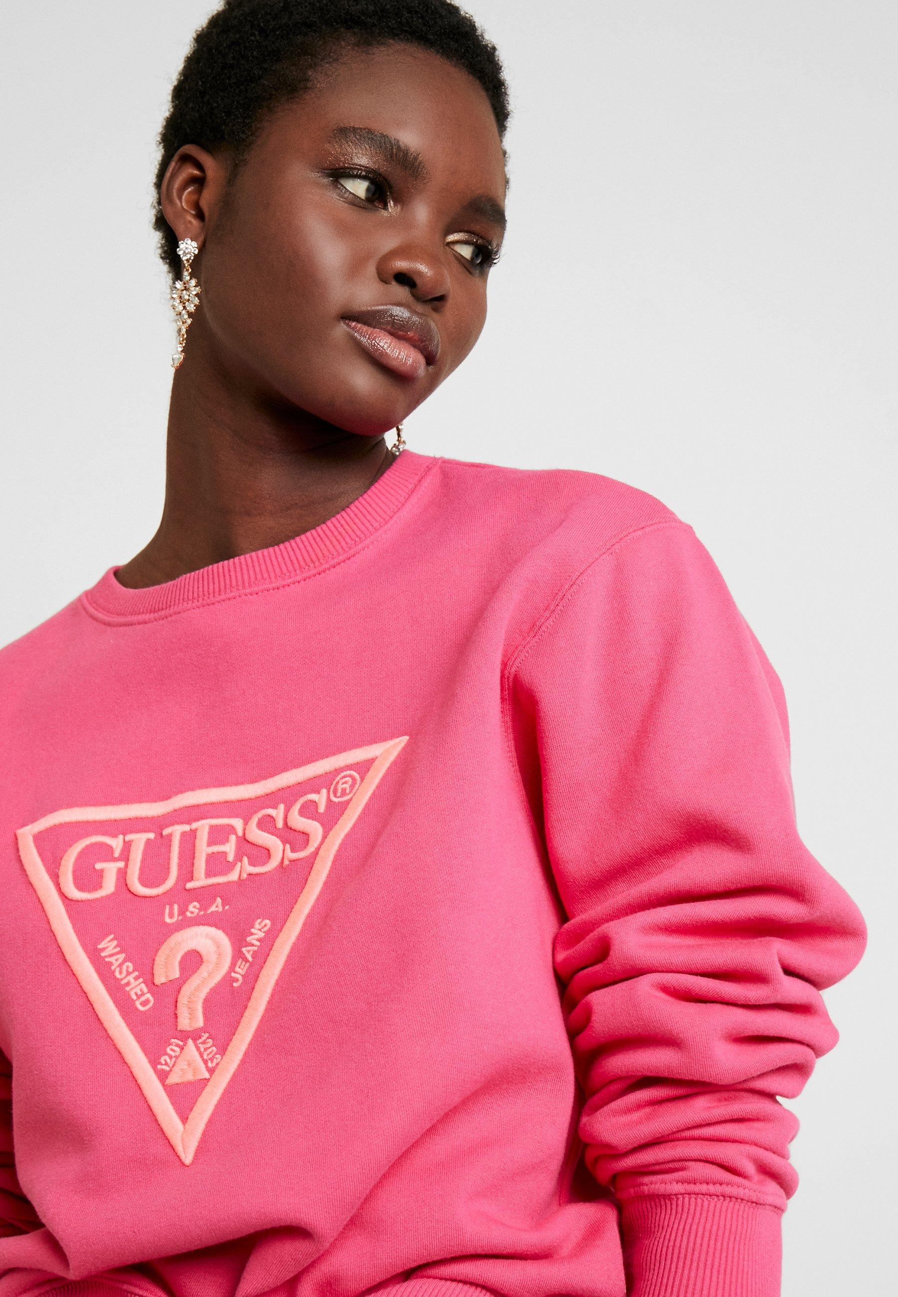 Guess Sweater Rouge/exotic Rose rjvAF26v