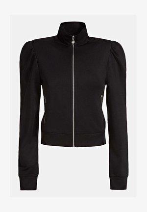 SWEATJACKE REISSVERSCHLUSS - Sweater - schwarz
