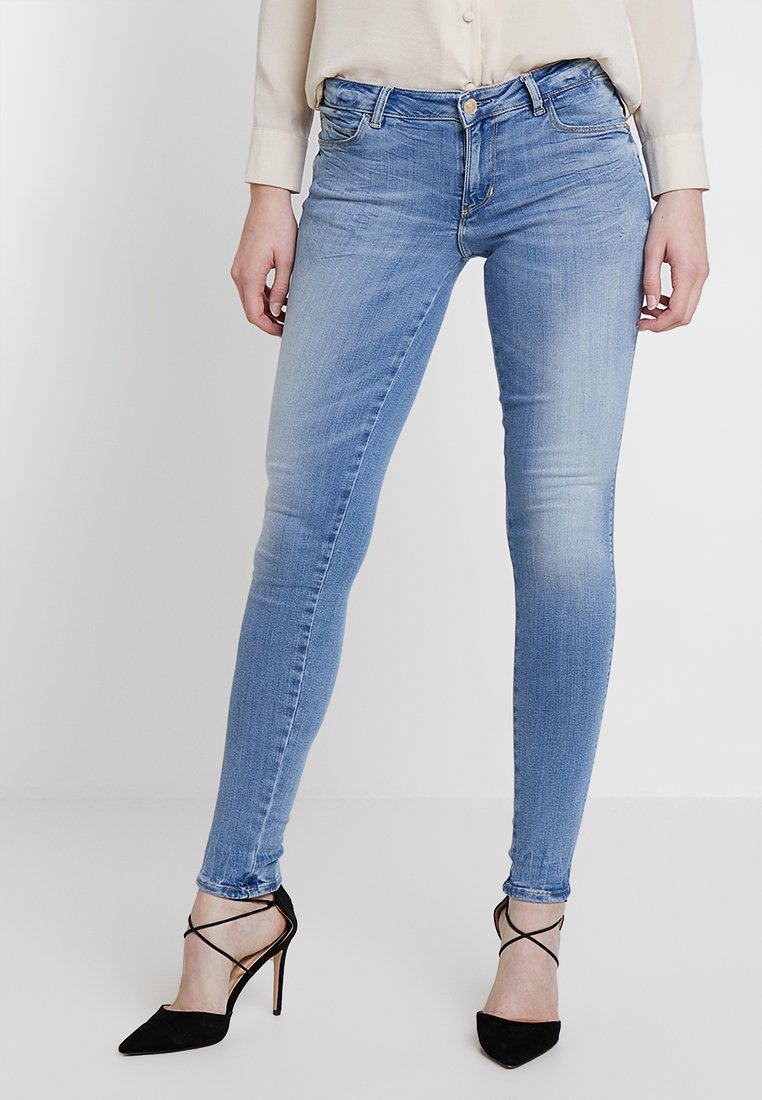 Guess - CURVE  - Jeans Skinny Fit - bleached denim