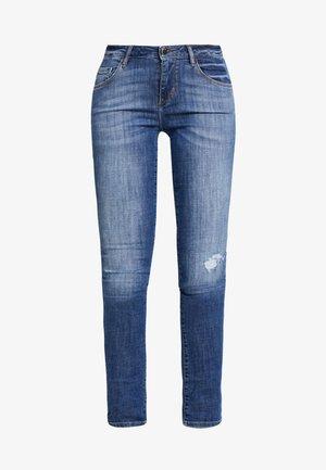 ANNETTE - Skinny džíny - destroyed denim