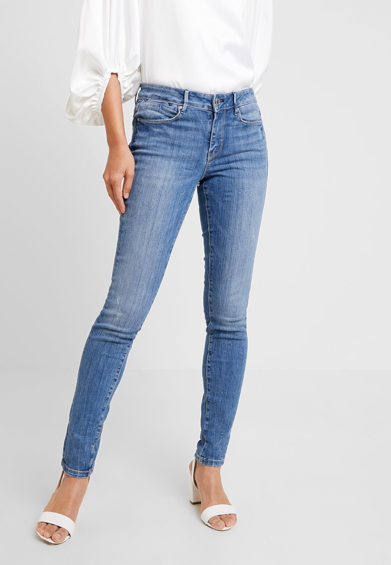 Guess - MID - Jeans Skinny Fit - marigarde plain