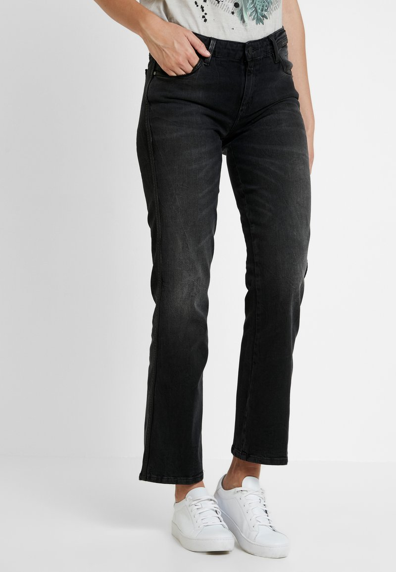 Guess - SEXY STRAIGHT ANKLE - Straight leg jeans - shiro