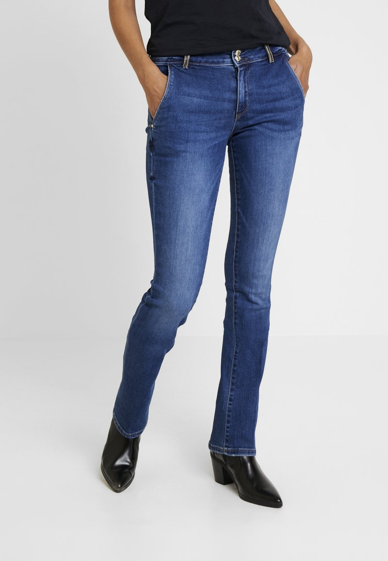 Guess - JADE MID - Jeans Bootcut - tabi