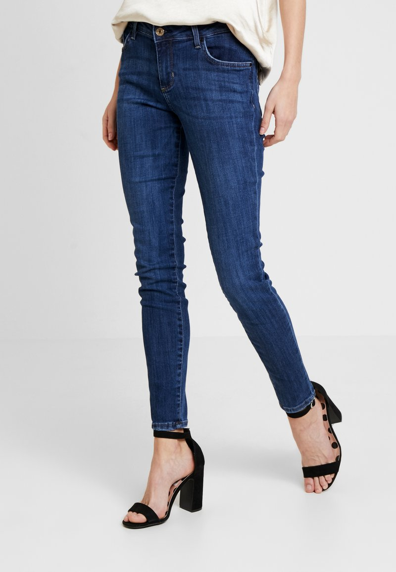 Guess - ANNETTE - Skinny džíny - dark-blue denim