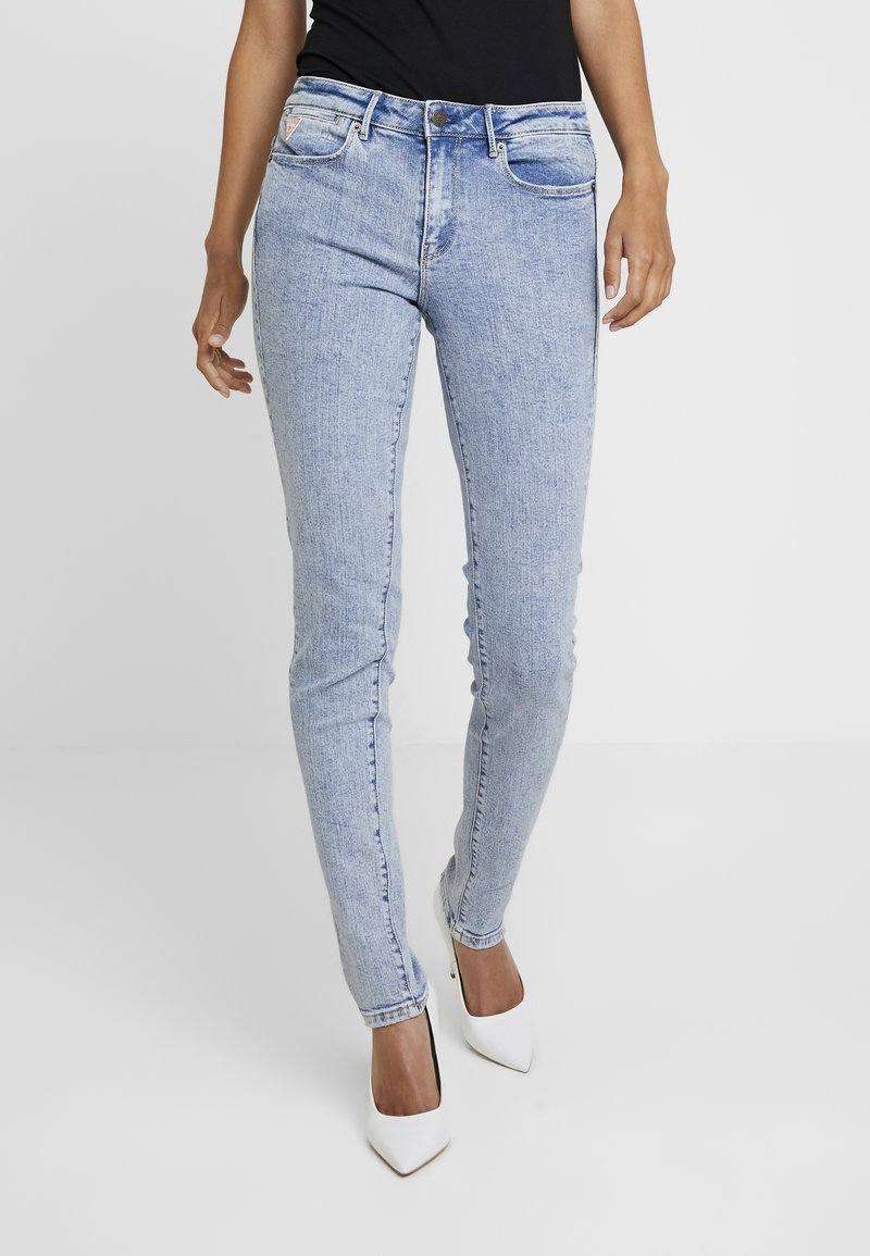 Guess - JEGGING MID - Jeansy Skinny Fit - archive stretch
