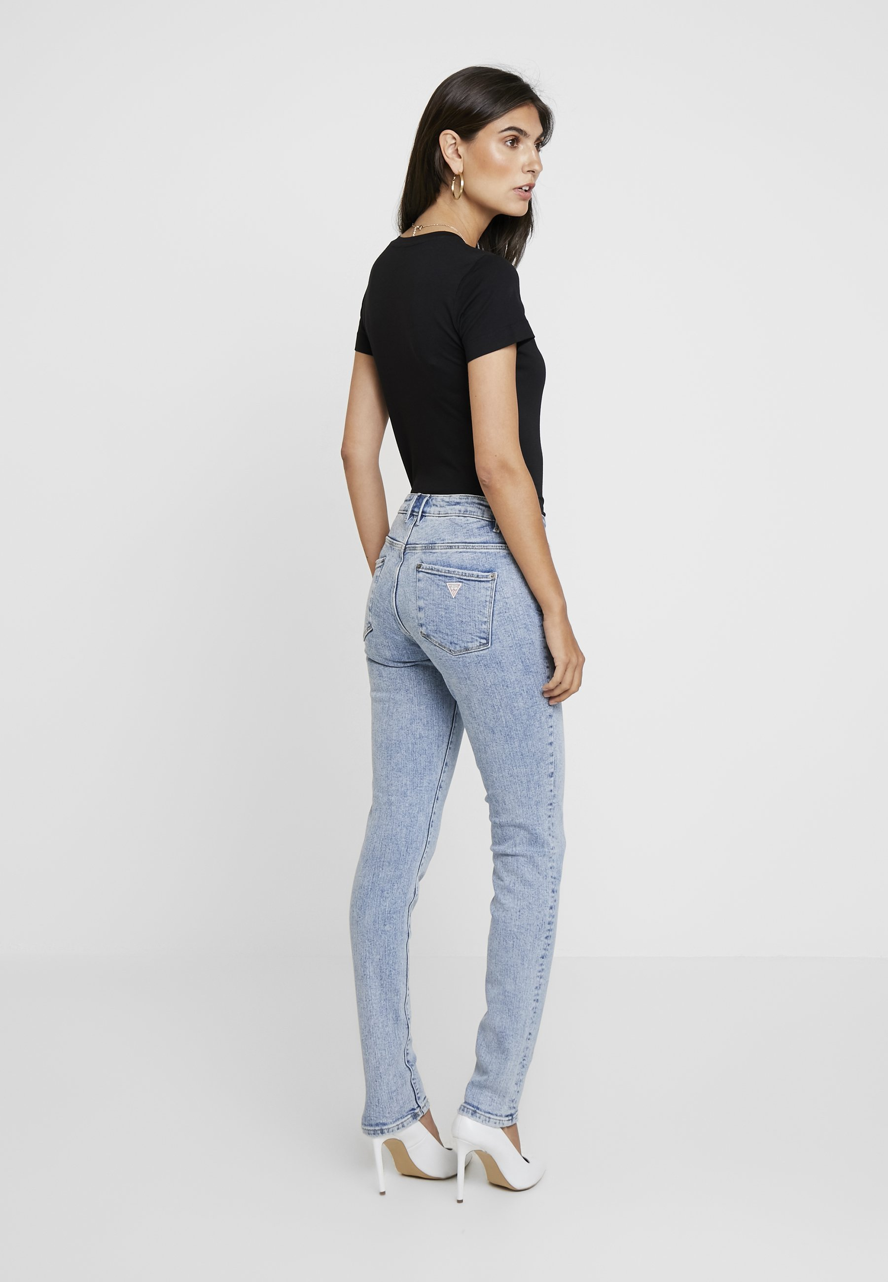 Guess Jegging Mid - Jeans Skinny Fit Archive Stretch Black Friday