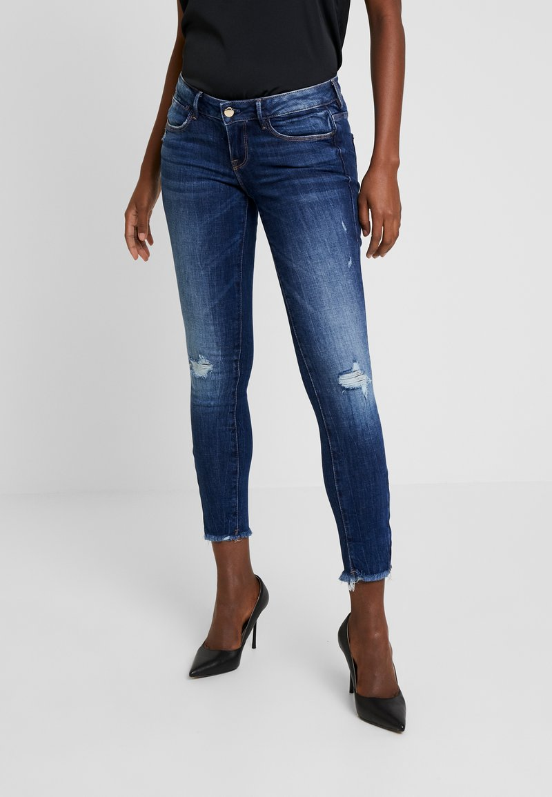 Guess - JEGGING ZIP - Vaqueros pitillo - witched blue