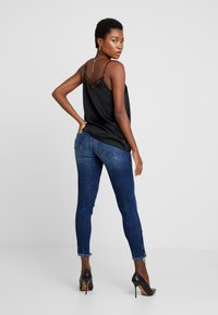 Guess - JEGGING ZIP - Vaqueros pitillo - witched blue - 2