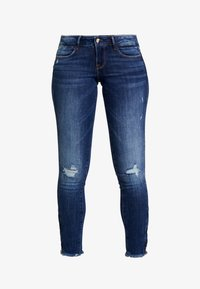 Guess - JEGGING ZIP - Vaqueros pitillo - witched blue - 4