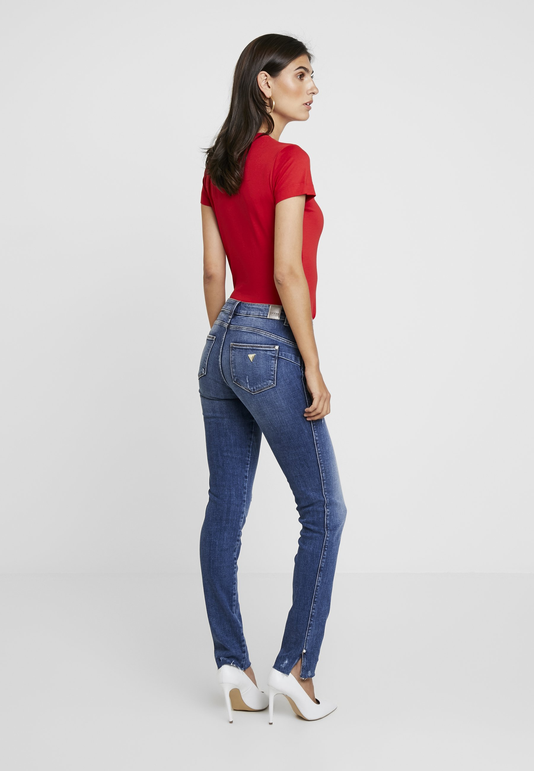 Guess SplitJeans Ultra Richness Curve Skinny CxWordBe