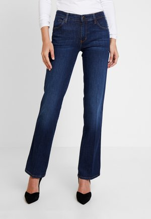 SEXY STRAIGHT - Jeans a sigaretta - blue-black denim
