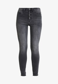 Guess - EXPOSED BUTTON - Jeans Skinny Fit - cali grey - 3