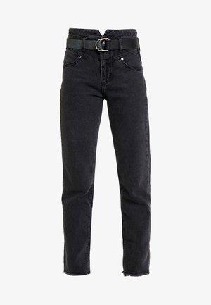 THE GIRL HIGH - Jeans straight leg - meridian black