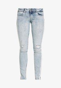 Guess - SPLIT - Jeans Skinny - edgy water destroy - 3