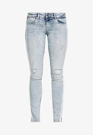 SPLIT - Jeans Skinny Fit - edgy water destroy