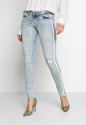 SPLIT - Jeans Skinny Fit - edgy water destroy
