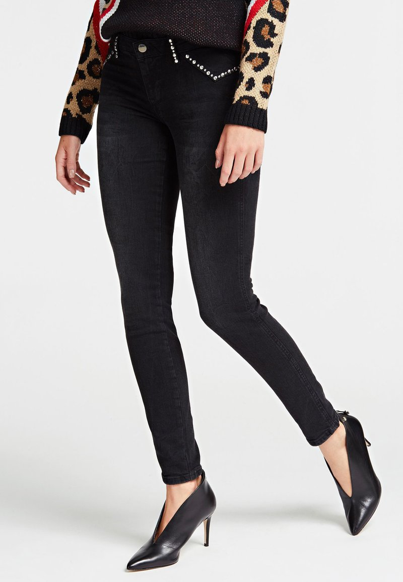Guess - Jeans Skinny Fit - black
