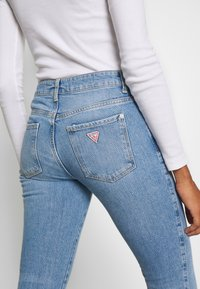Guess - SEXY CURVE - Jeansy Skinny Fit - blue denim - 5