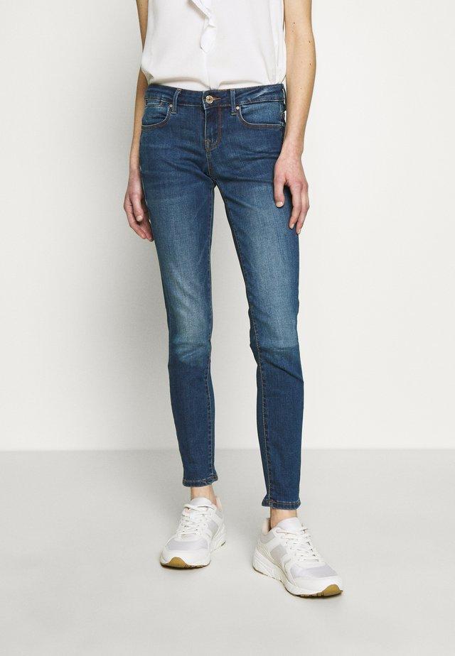 JEGGING - Jeansy Skinny Fit - dark-blue denim