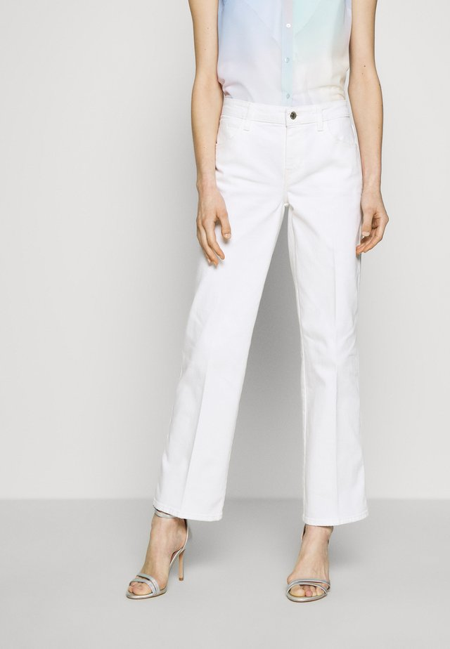 SEXY ANKLE - Jeans straight leg - jungle white