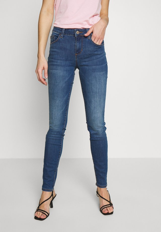 ANNETTE - Jeansy Skinny Fit - melrose