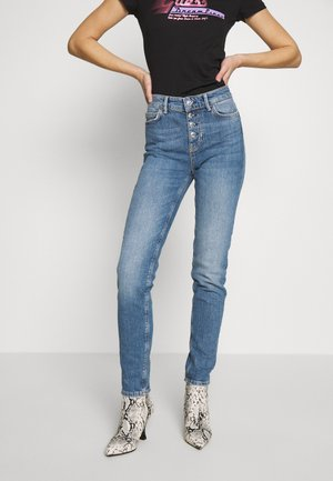 EXPOSED BUTTON - Jeans Skinny - soround