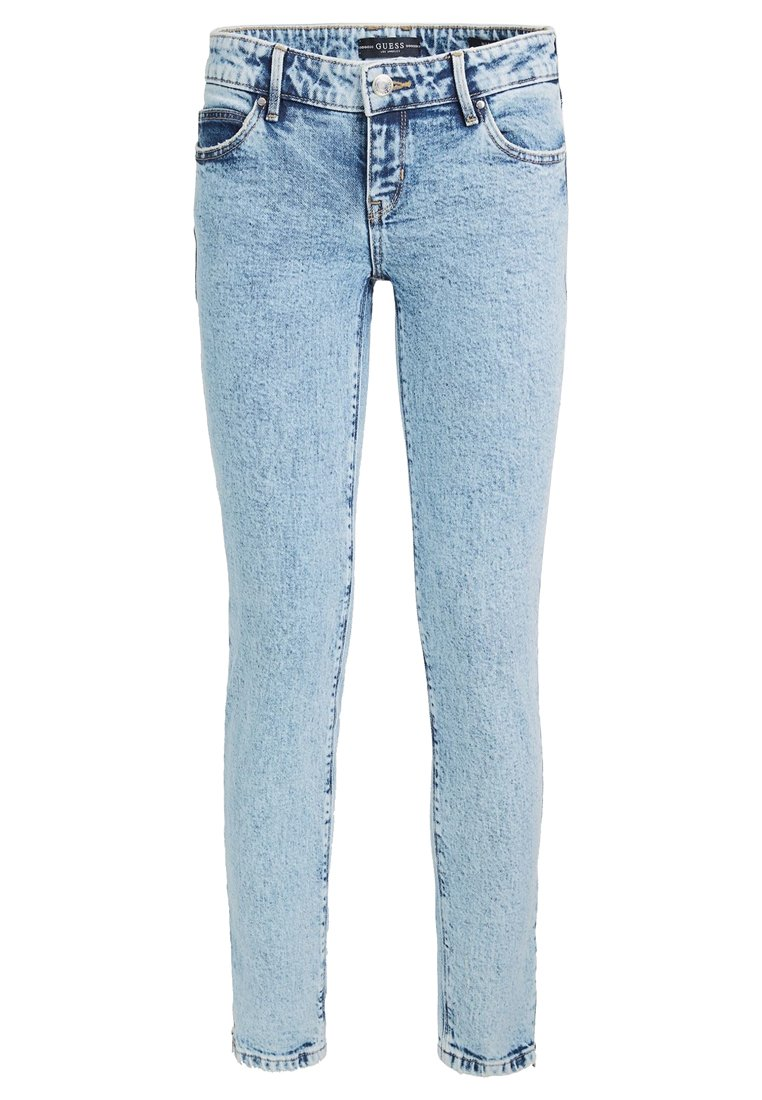 Guess Jeansy Skinny Fit - light blue