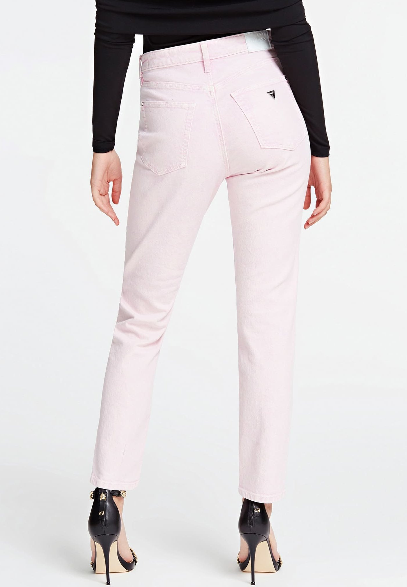 Guess Jeansy Slim Fit - rose