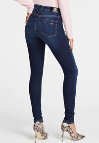 Guess - SUPER - Jeansy Skinny Fit - blue - 2