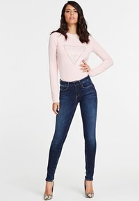 Guess - SUPER - Jeansy Skinny Fit - blue - 1