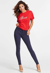 Guess - SKINNY - Jeansy Skinny Fit - blue - 1