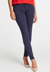 Guess - SKINNY - Jeansy Skinny Fit - blue - 0