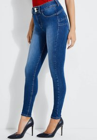 Guess - SHAPE-UP-JEANS SKINNY FIT - Jeansy Skinny Fit - blau - 3