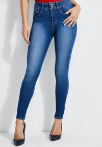 Guess - SHAPE-UP-JEANS SKINNY FIT - Jeansy Skinny Fit - blau - 0