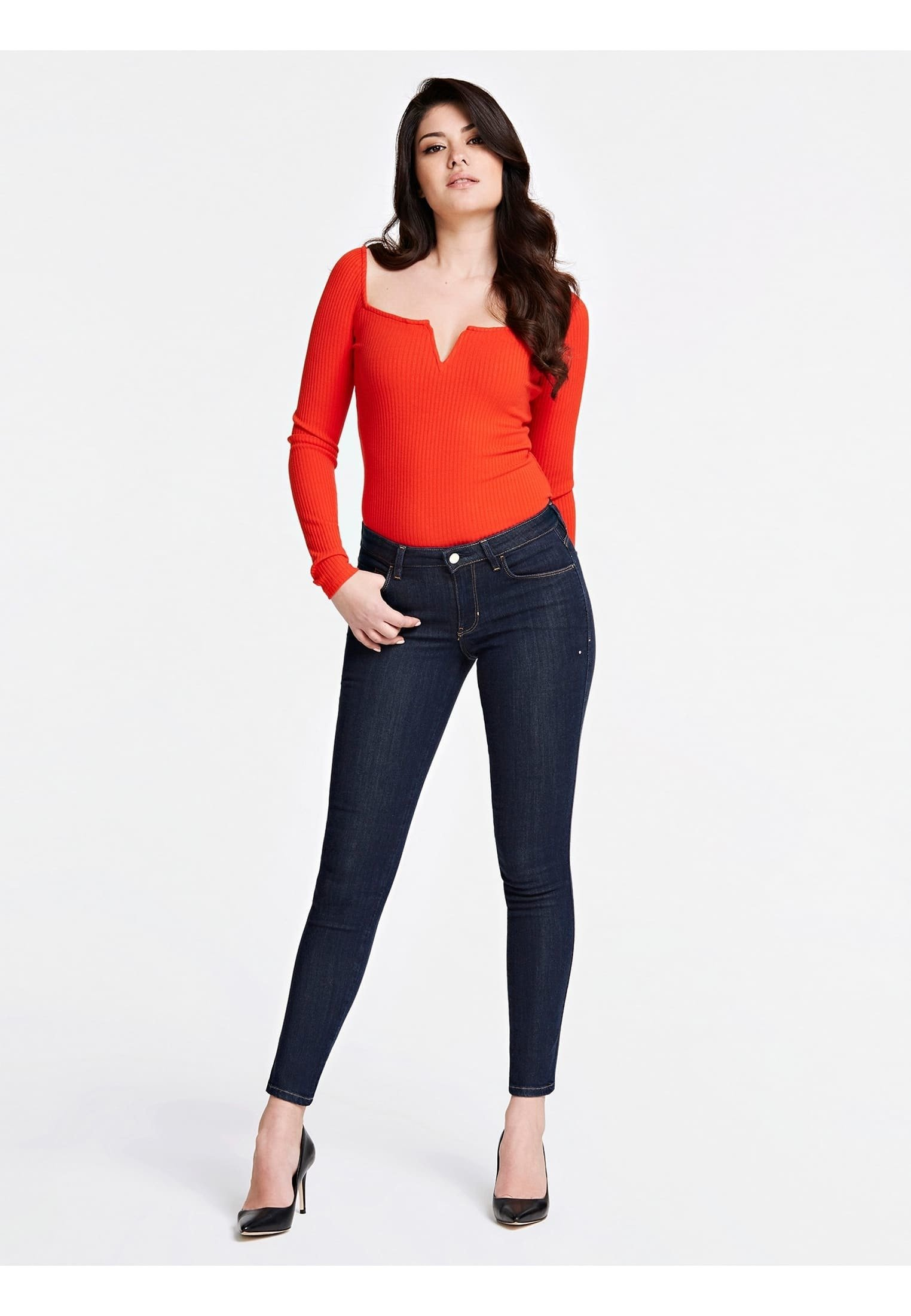 Guess JEANS SKINNY FIT - Jeansy Skinny Fit - dunkelblau