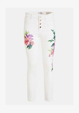 GUESS JEANS SKINNY - Jeans Skinny Fit - mehrfarbig, weiß