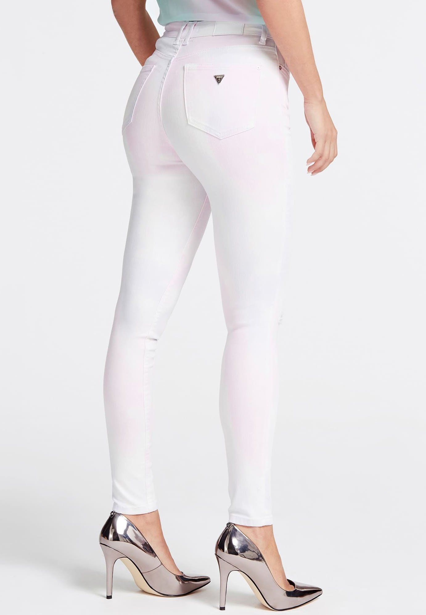 Guess GUESS JEANS SKINNY - Jeansy Skinny Fit - rose