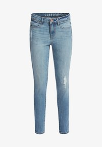 Guess - Jeansy Skinny Fit - himmelblau - 3