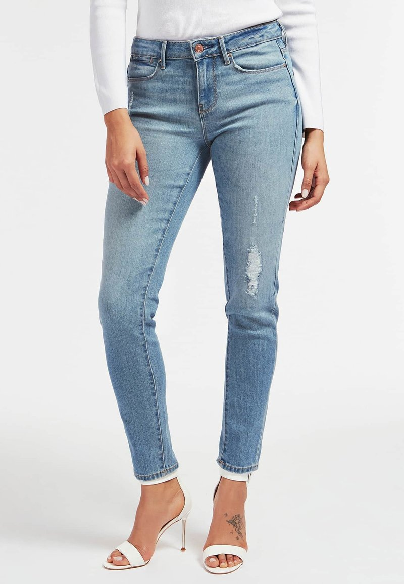 Guess - Jeansy Skinny Fit - himmelblau