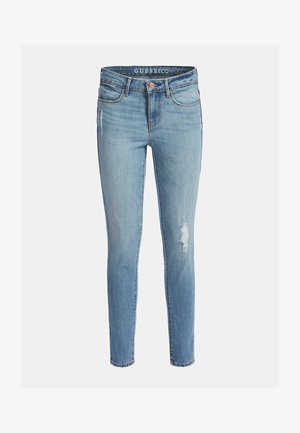 Jeansy Skinny Fit - himmelblau