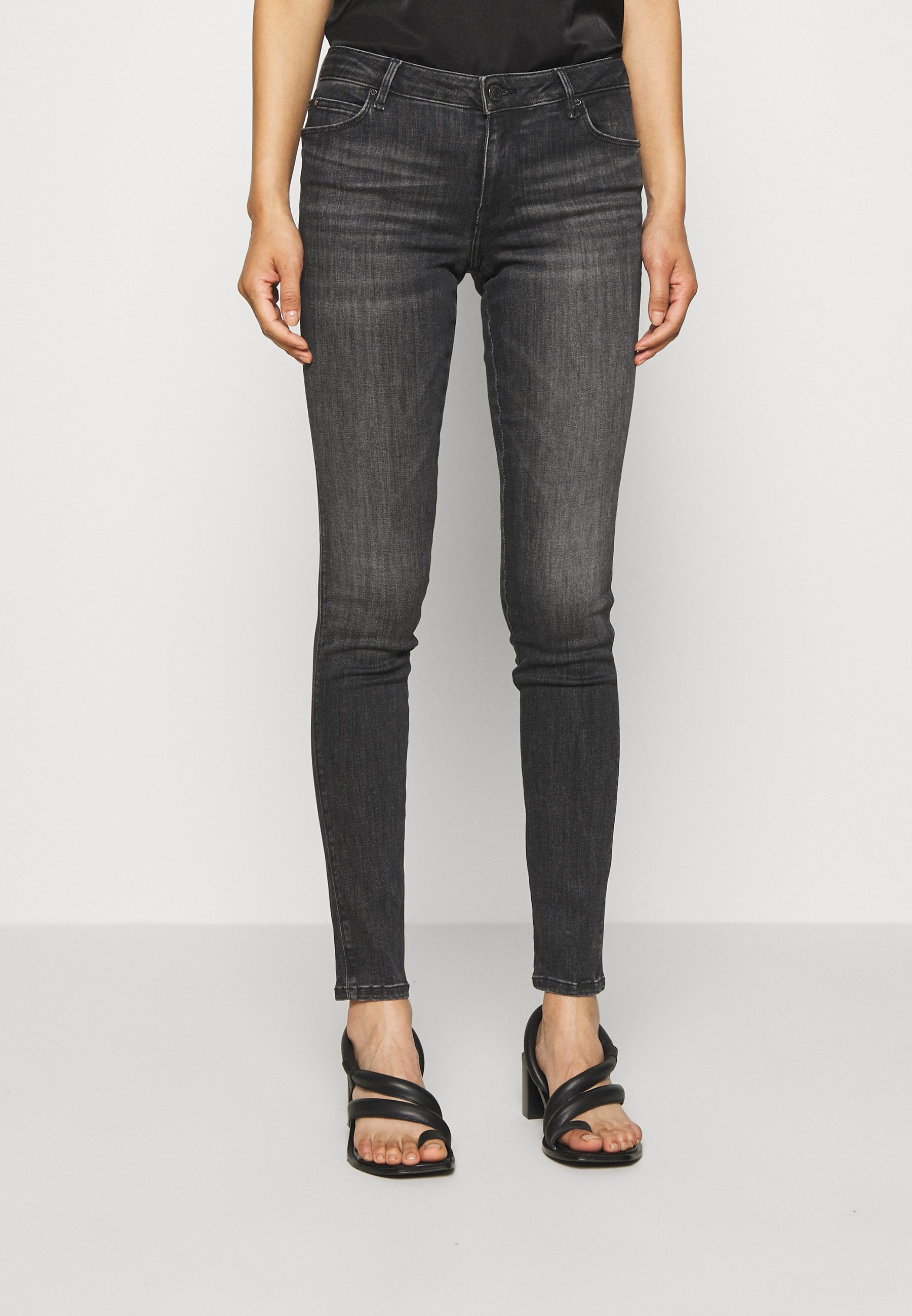 Guess CURVE Jeans Skinny Fit dark blue denim Zalando.nl