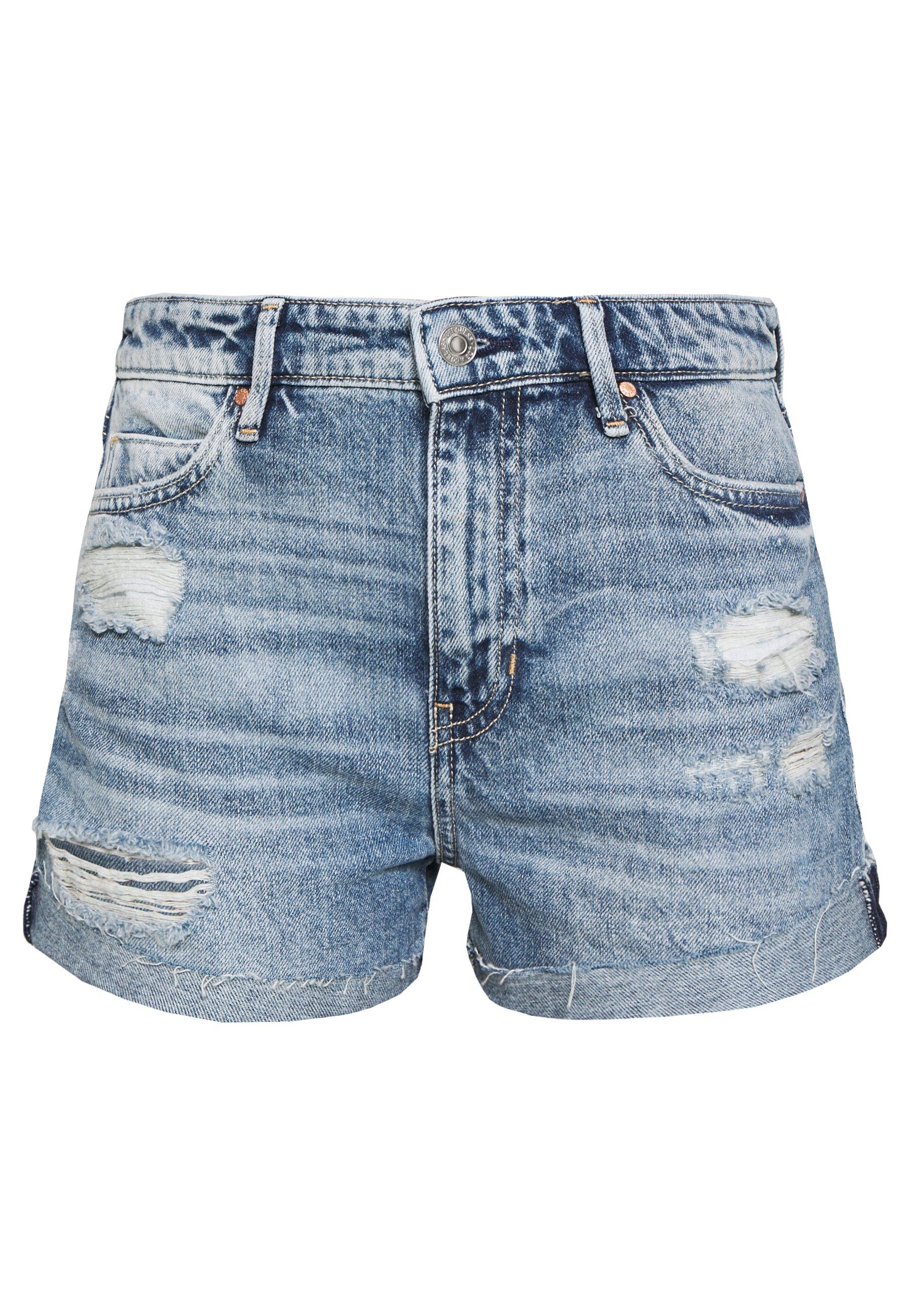 Guess GEMMA Shorts di jeans tomorrow blue Zalando.it