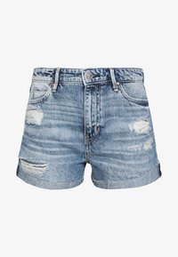Guess - GEMMA - Jeansshort - tomorrow blue - 4