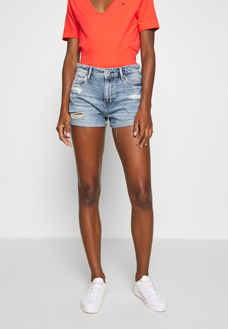 Guess - GEMMA - Jeansshort - tomorrow blue