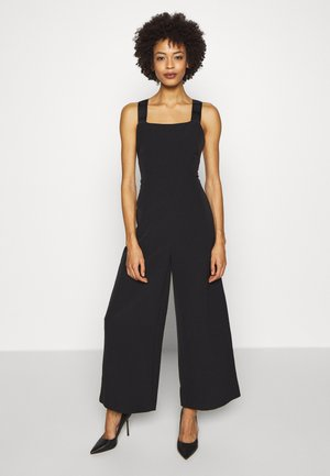 NORA OVERALL - Jumpsuit - jet black