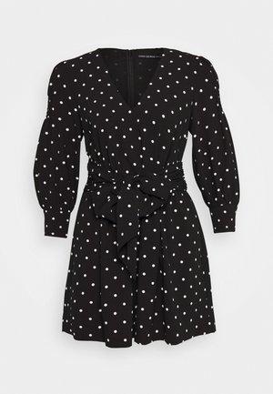 CILIA ROMPER - Tuta jumpsuit - black and white