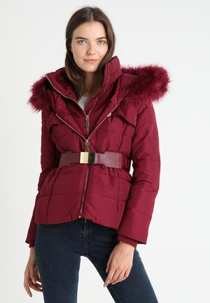 Down jacket - blueberry red
