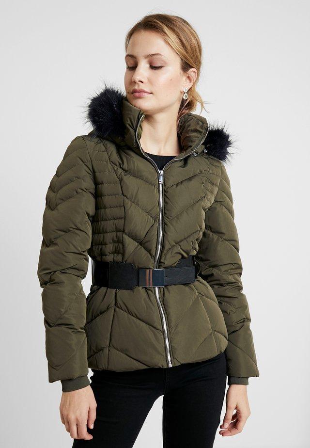 PETRA JACKET - Gewatteerde jas - travertine