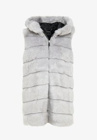 Guess - STACEY VEST - Waistcoat - mountain grey - 4
